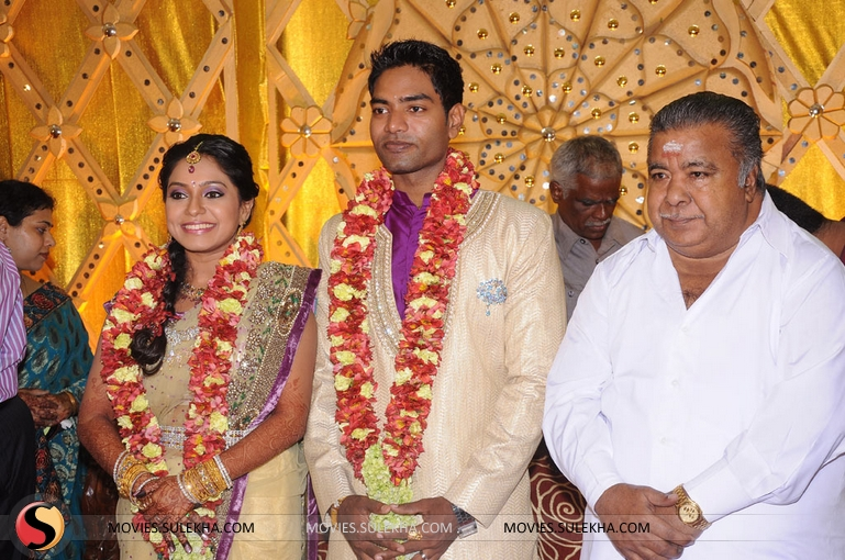 Actress Aparna Wedding Reception Pictures 1