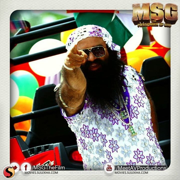 MSG - The Messenger Of God Trends Worldwide on Twitter | Sulekha Movies