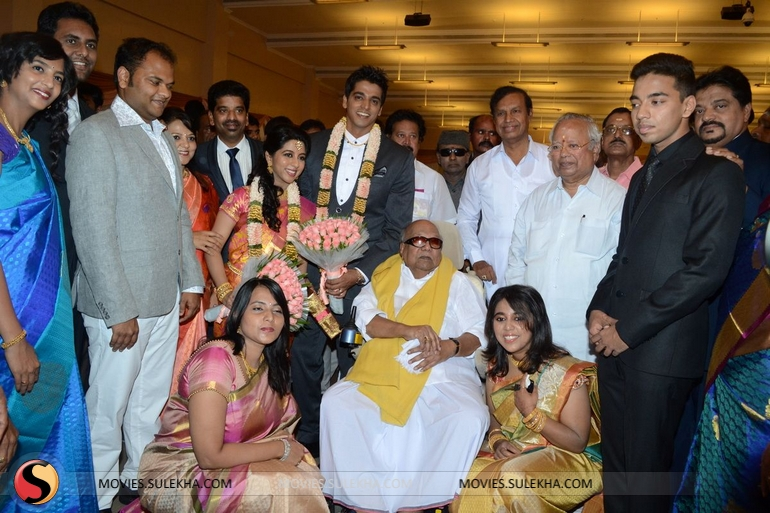 Page 15 of Celebs Spotted at Palam Silks Daughter Marriage Reception
