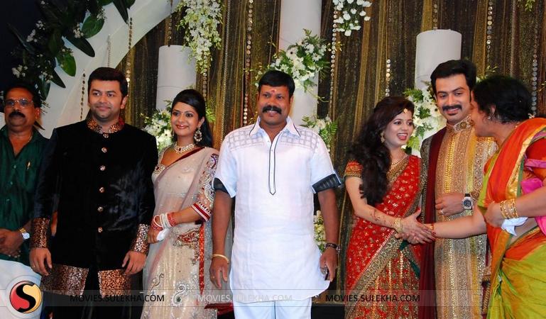Page 1 Of Prithviraj Wedding Reception Stills Prithviraj Wedding