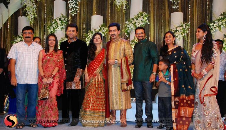 Page 18 Of Prithviraj Wedding Reception Stills Prithviraj Wedding