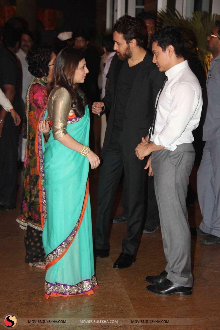 Page 1 Of Riteish And Genelias Wedding Reception Riteish And