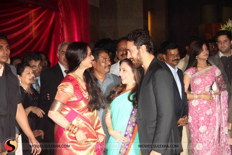 Page 4 Of Riteish And Genelias Wedding Reception Riteish And