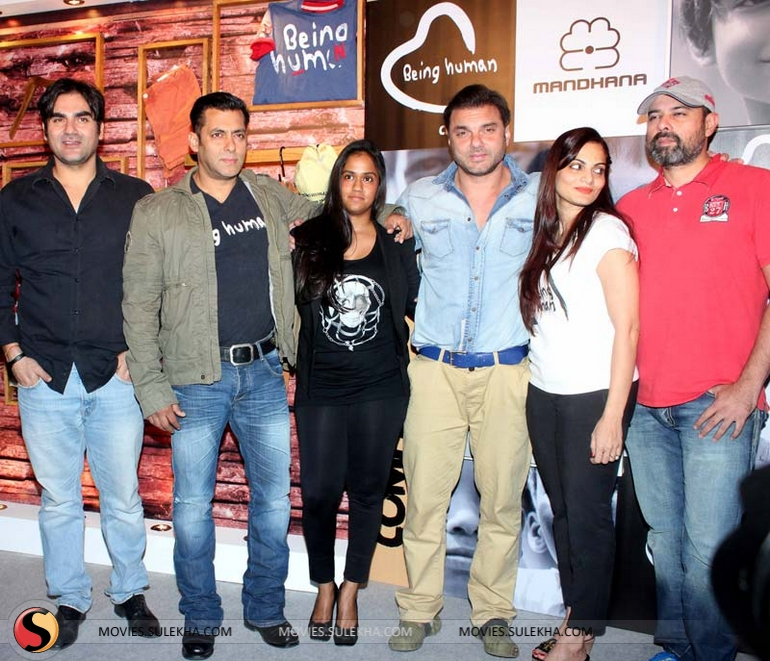 Salman Khan Launches Being Human Flagship Store Pictures 32