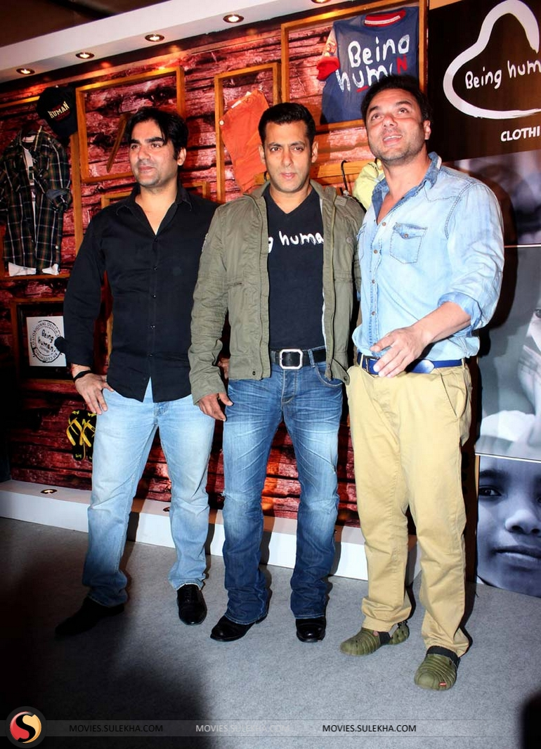 Salman Khan Launches Being Human Flagship Store Pictures 39
