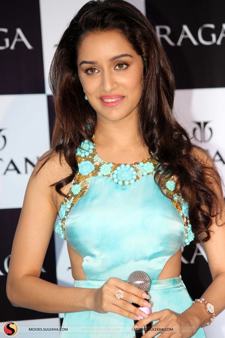 page 1 of shraddha kapoor launches titan raga s new collection