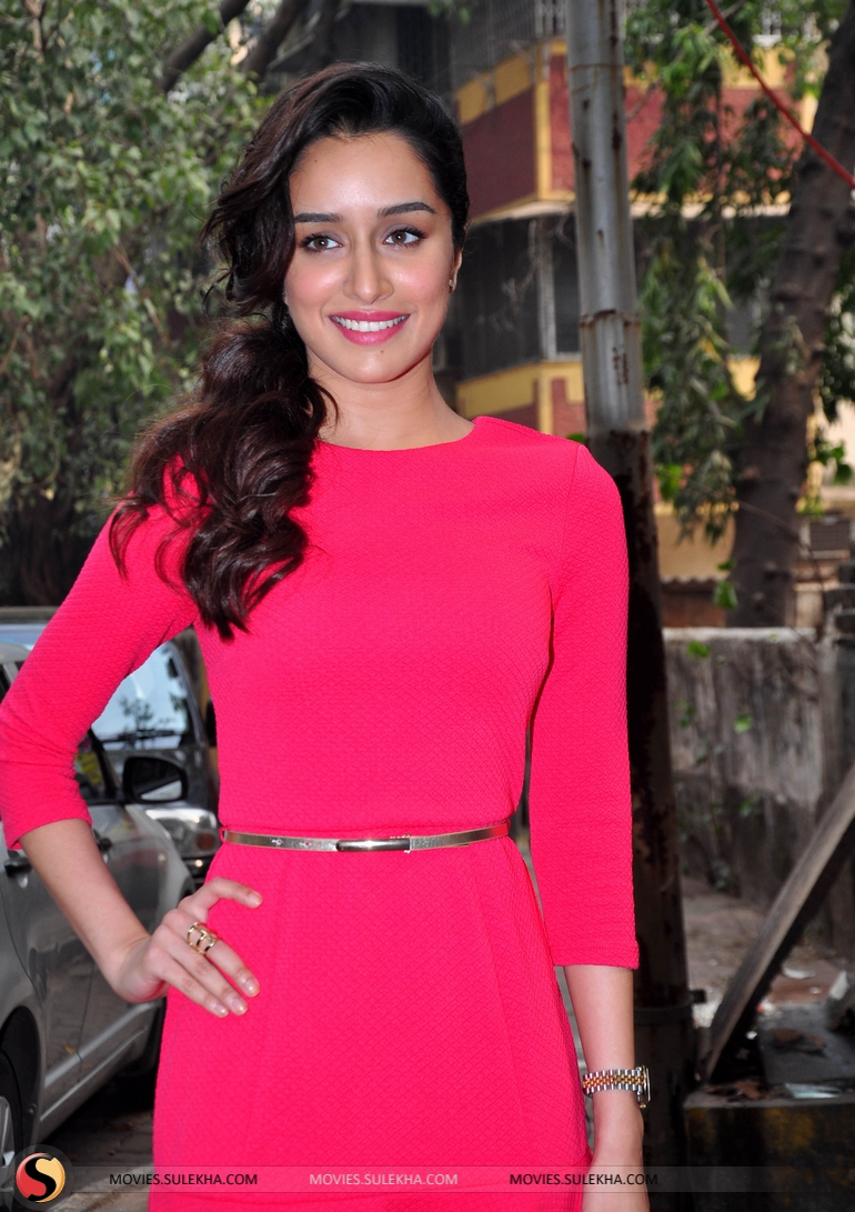 December 17 2014 Actress Shraddha Kapoor Who Has Created A Name For Herself With Roles In Ek Villain And Haider Is Set To Celebrate New Year Las
