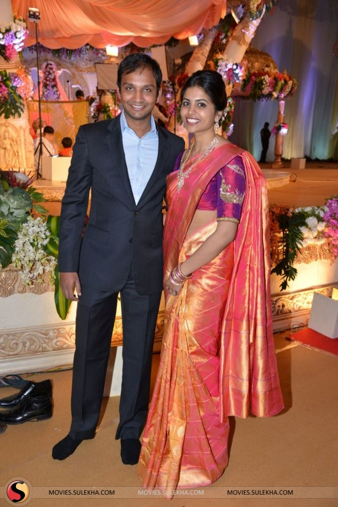 Hero Srikanth Other Celebs At Sunny Keerthi S Wedding Reception Pictures 22