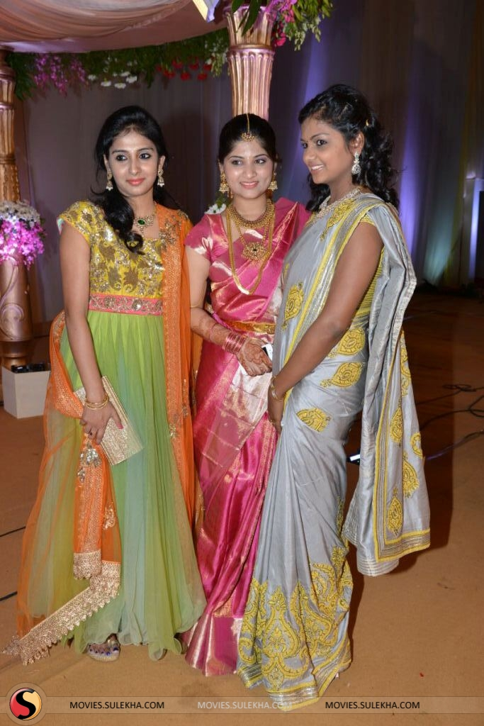 Hero Srikanth Other Celebs At Sunny Keerthi S Wedding Reception Pictures 51