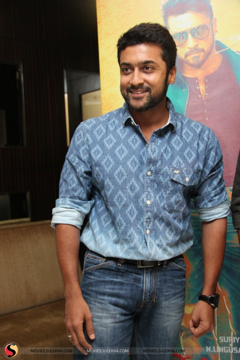 page 1 of surya spotted at anjaan movie press meet, surya spotted at