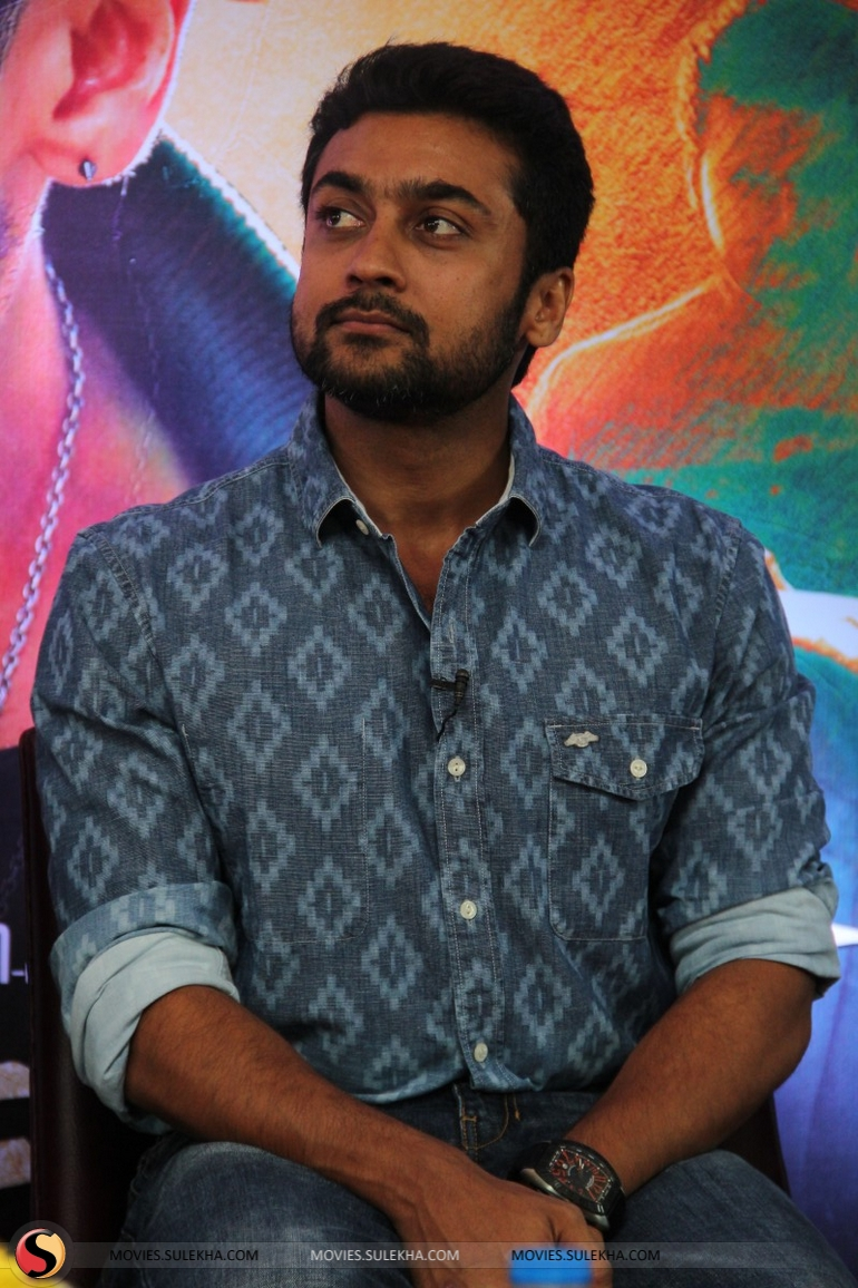 page 5 of surya spotted at anjaan movie press meet, surya spotted at