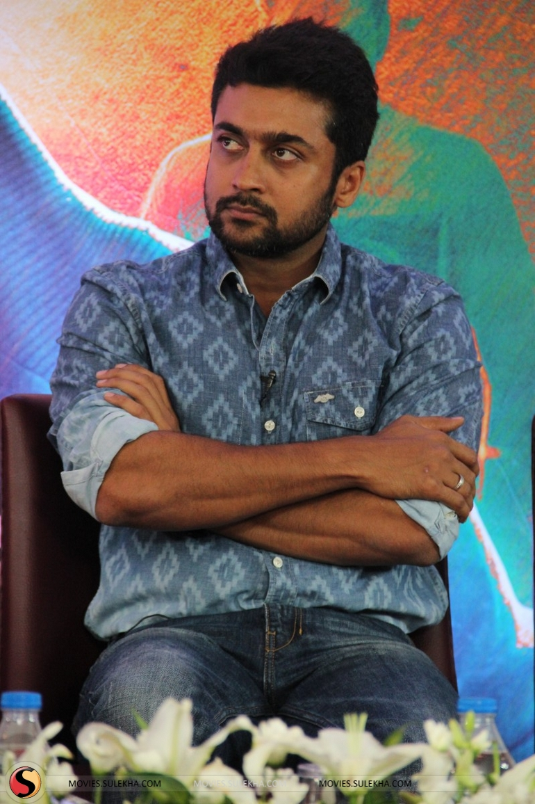 page 9 of surya spotted at anjaan movie press meet, surya spotted at