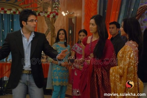 Page 27 of Tusshar Kapoor on the sets of TV serial Kasam Se